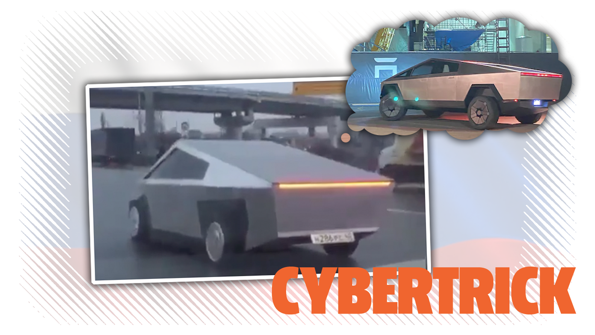 Someone's Already Made Their Own Cybertruck In Moscow