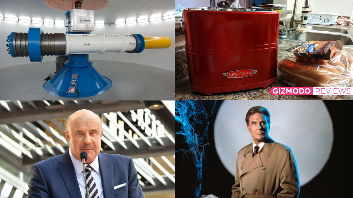 Old Nukes, Hot Dog Toasters, and Dr. Phil: Best Gizmodo Stories of the Week