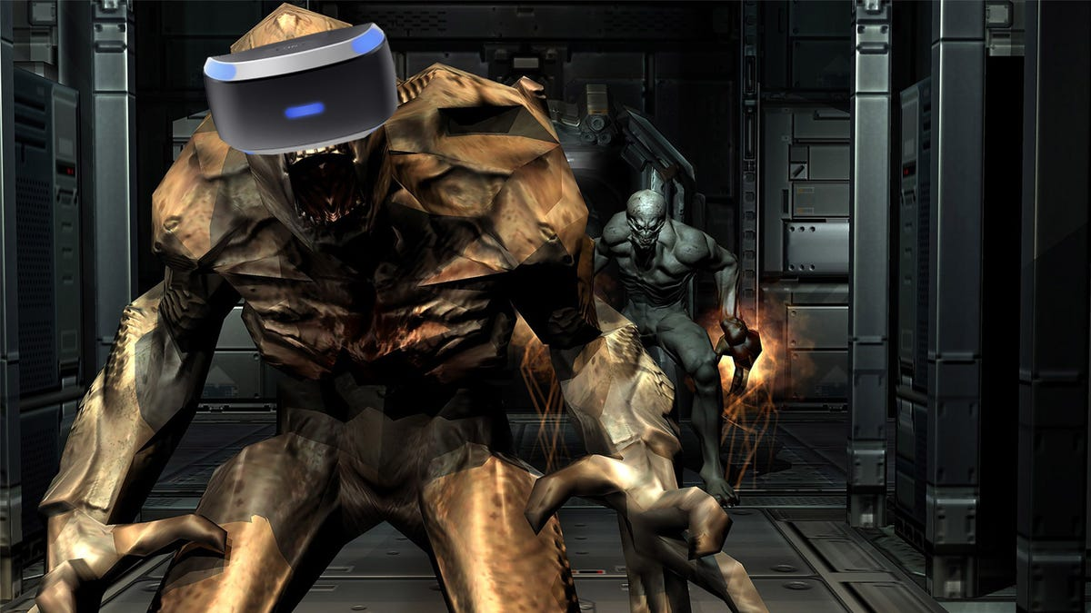 Doom 3 Is Better In VR