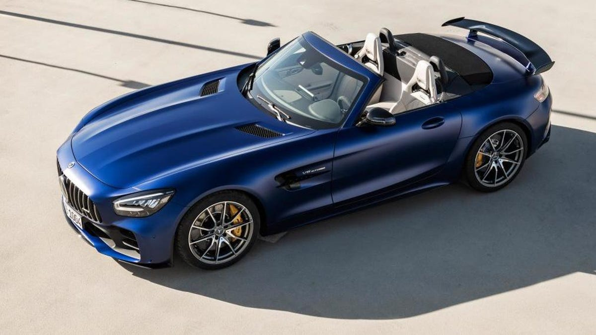 2020 Mercedes Amg Gt R Roadster Because Nothing Says Summer Like 577 Hp