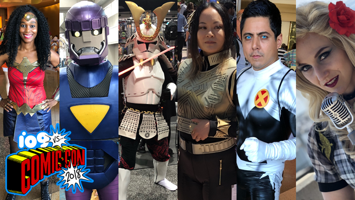 The Very Best of the Cosplay We Saw at San Diego Comic-Con