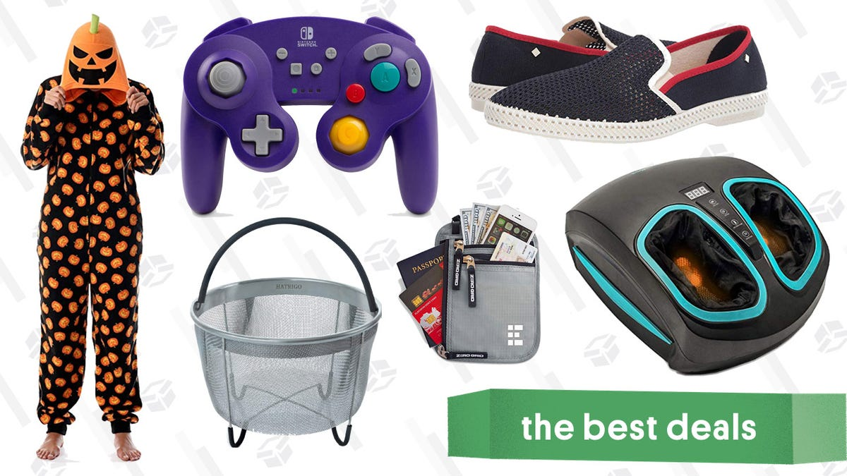Saturday's Best Deals: Thermapen Classic, Foot Massager, Neck Wallet, and More