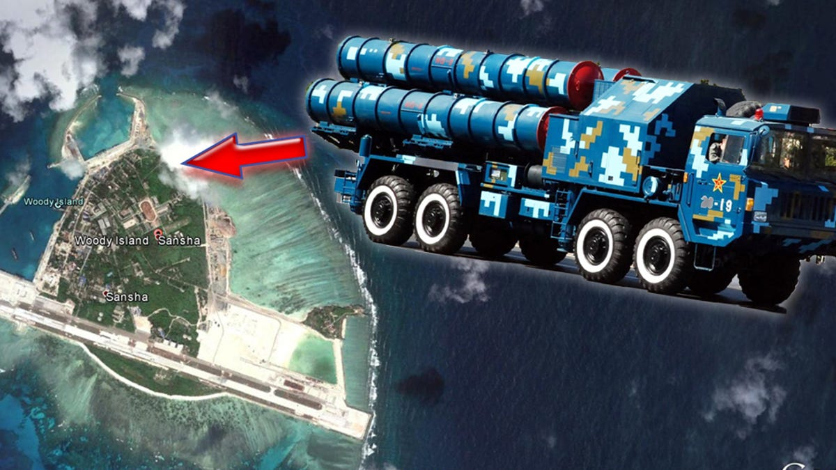 Surface To Air Missiles Arrive On China's Island Outpost In