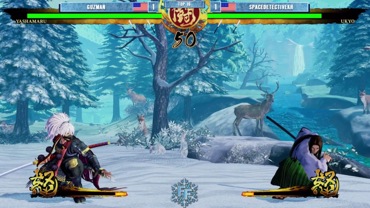 Respectful Fighting Game Staredown Was Actually Just A Controller Issue
