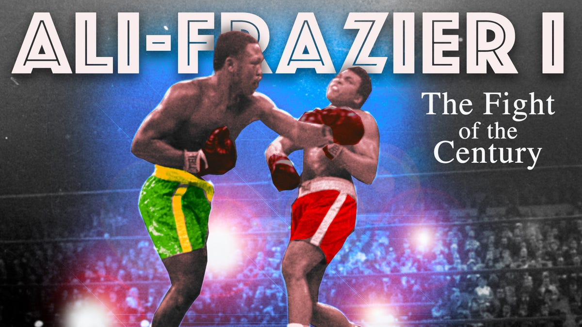 50 years ago today, Ali and Frazier stepped into the ring and delivered a divided nation its greatest sporting - Deadspin