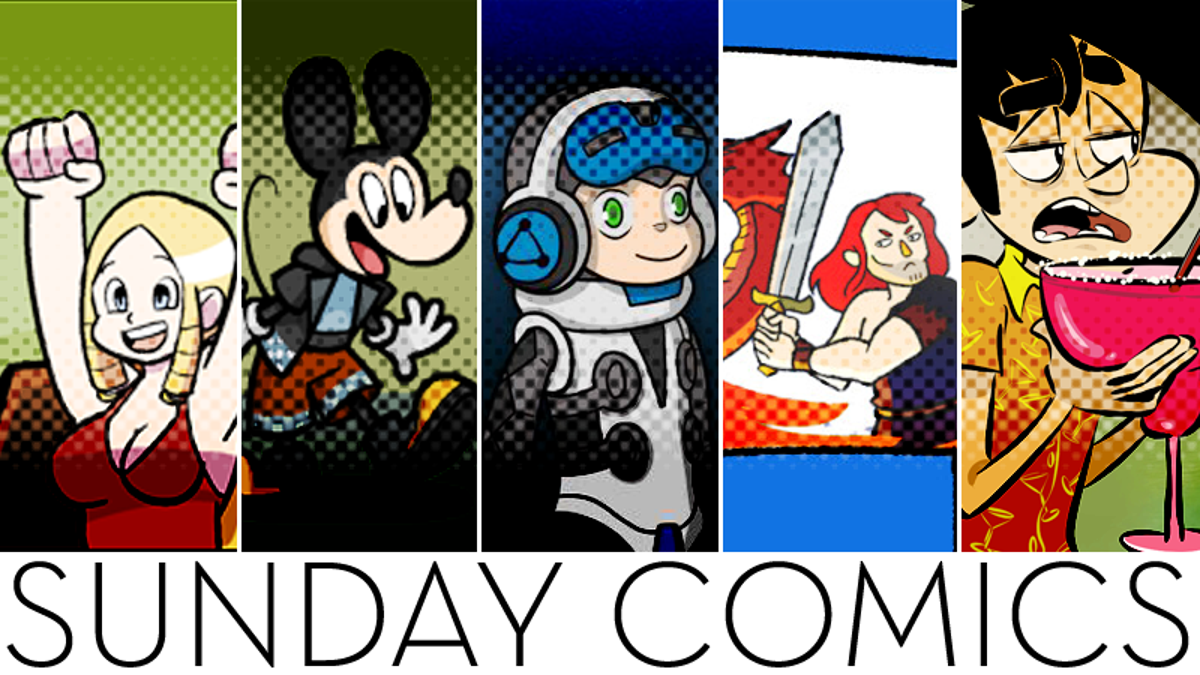 Sunday Comics: So Are They Magic?