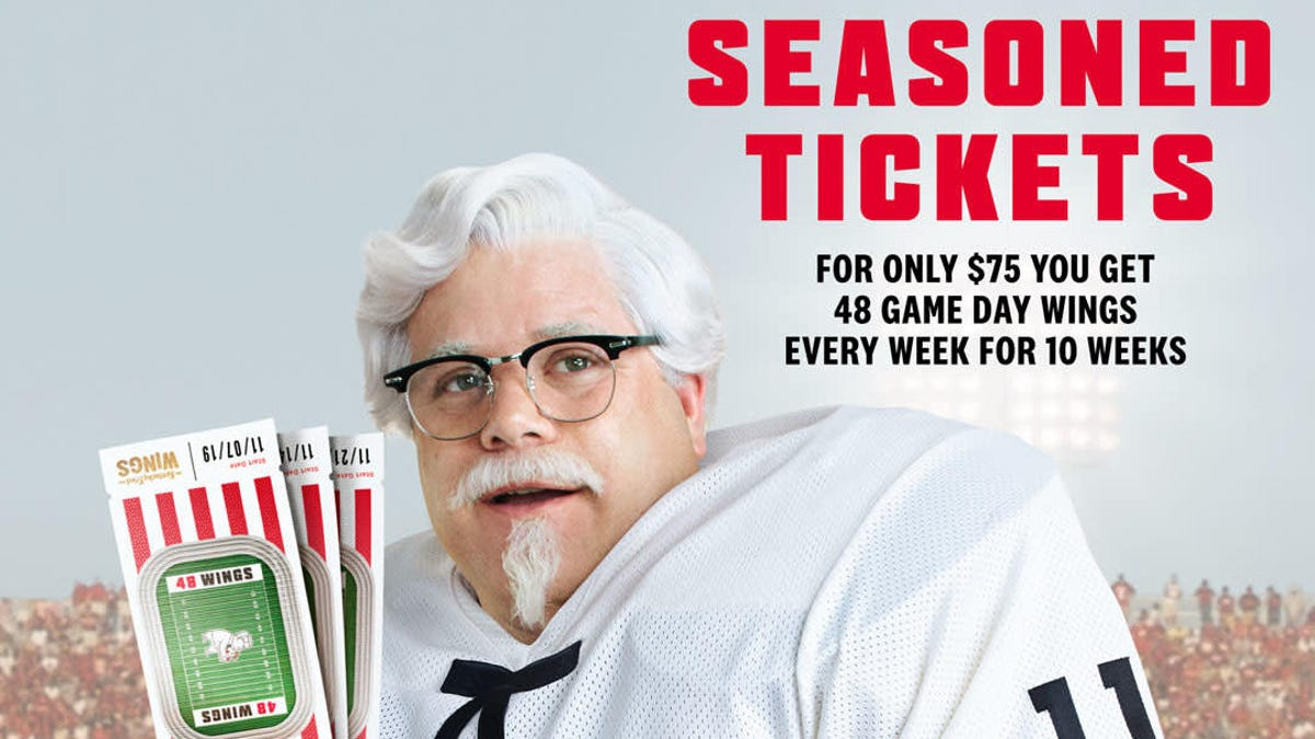 KFC's $75 wings subscription sells out in less than 2 hours