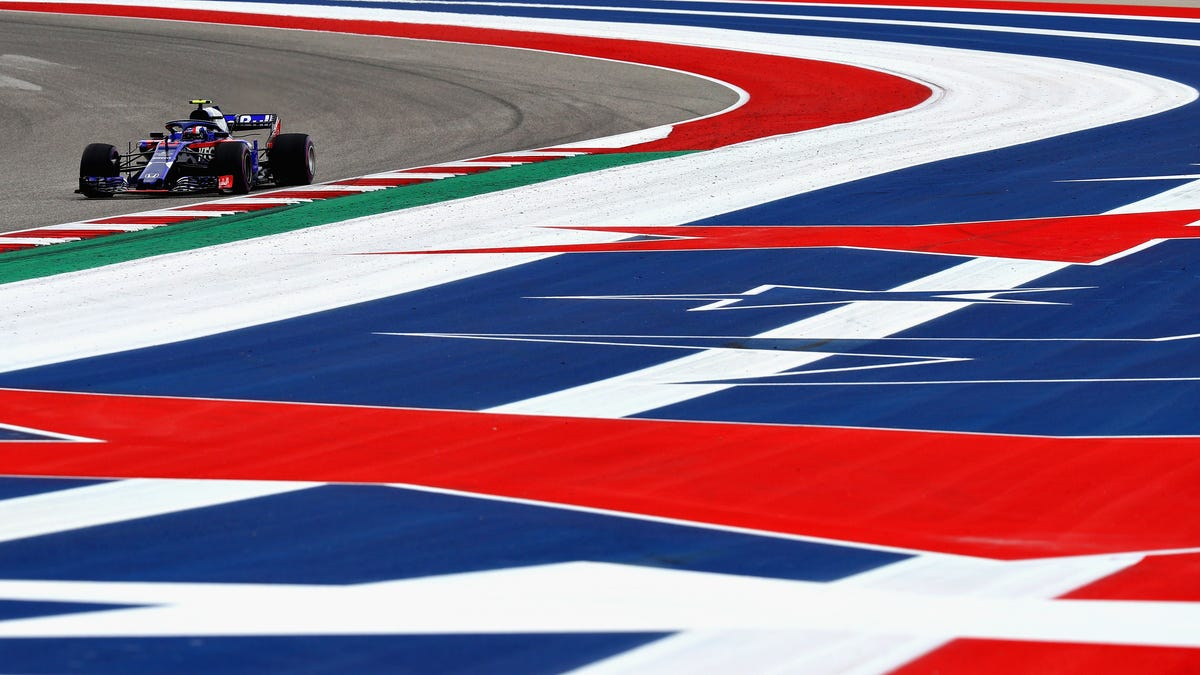 Here's How IndyCar's Lap Times at COTA Compare to Formula One's