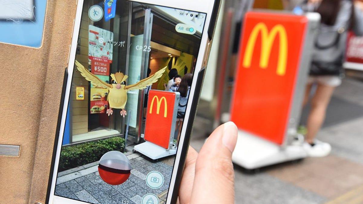 Pokémon Go Is Leaving McDonald's In Japan