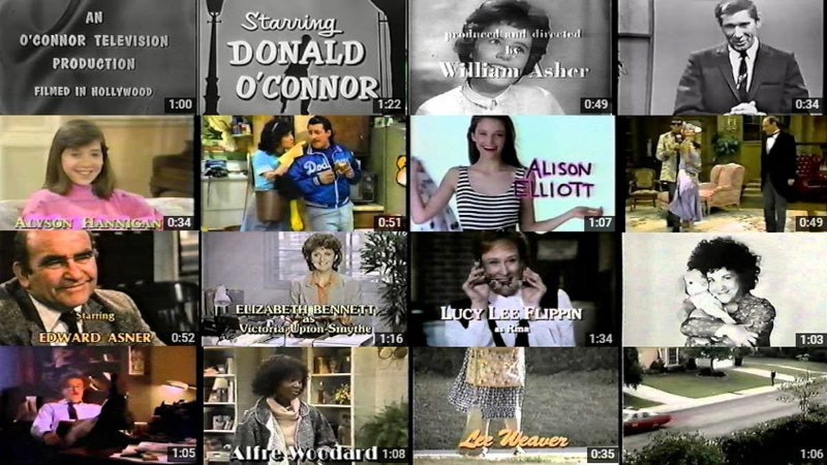 This YouTube channel of lost TV show credits is a monument to failure