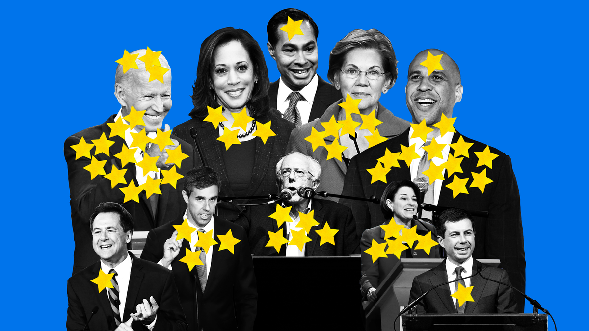 Here Is Every Democratic Congressmember's Pick for President So Far