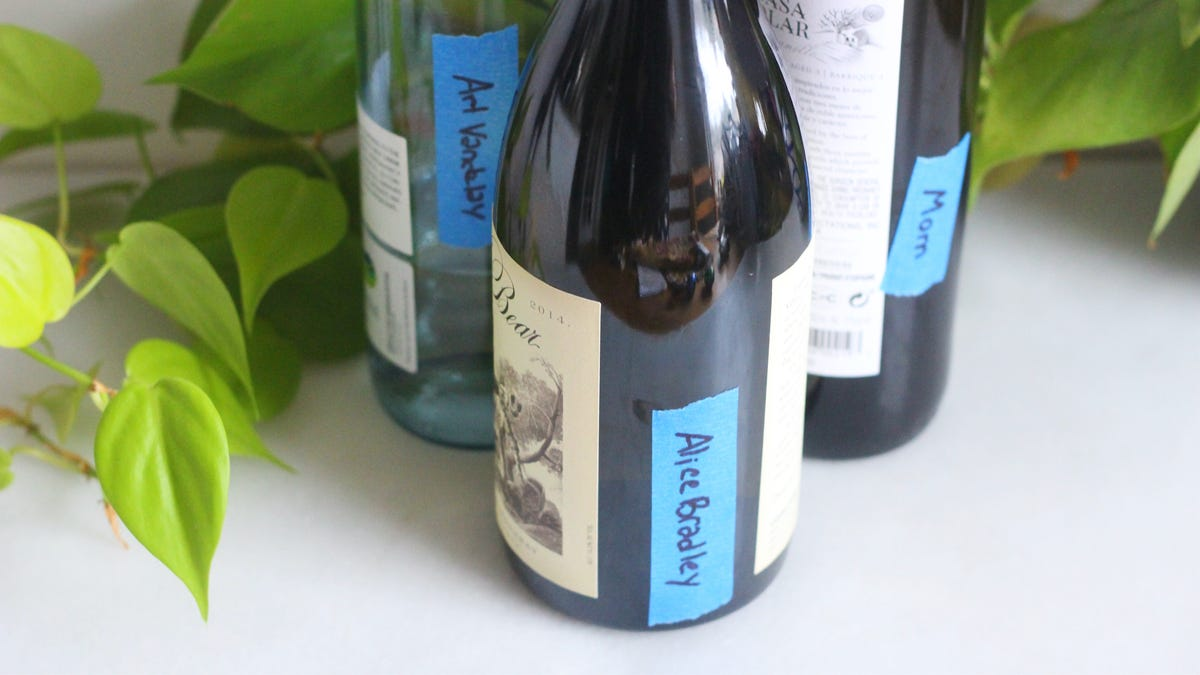 Label Your Wine Bottles So You Know Who Gave Them to You