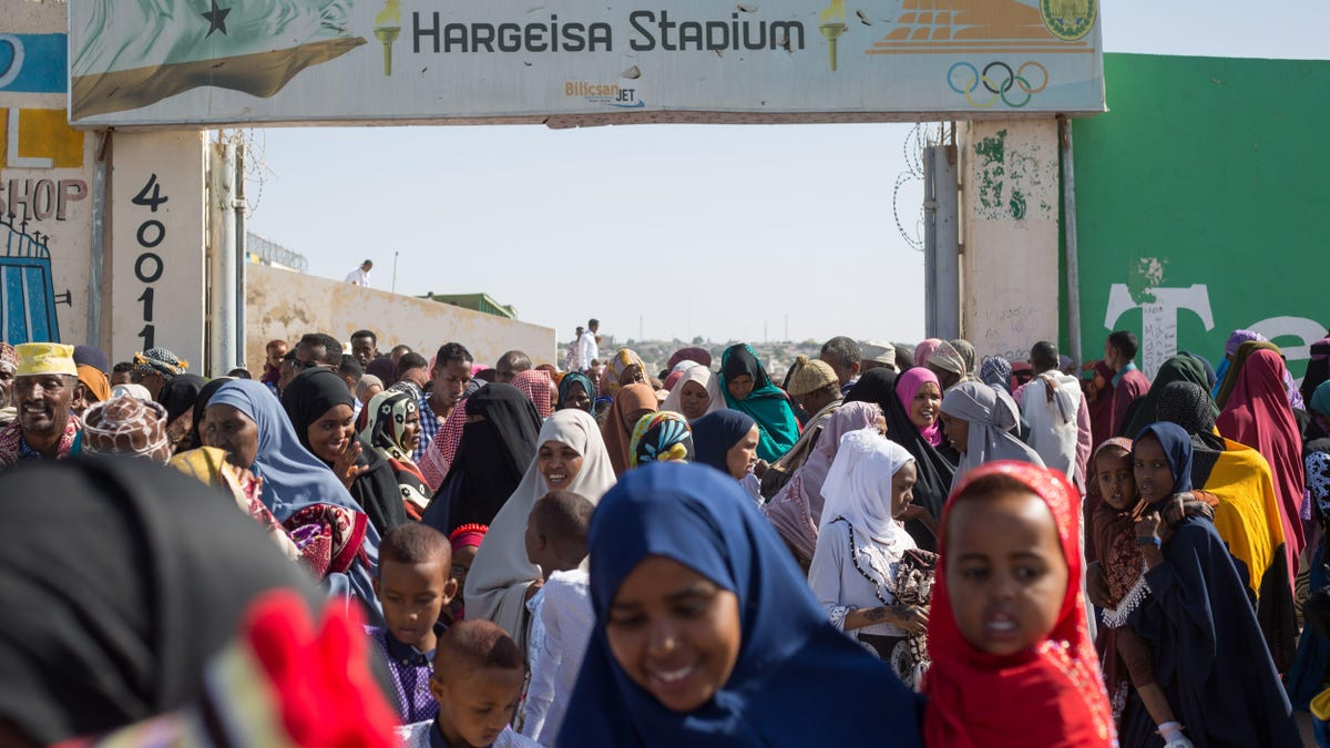 I'm Inspired by These Women Running a Marathon in Somaliland