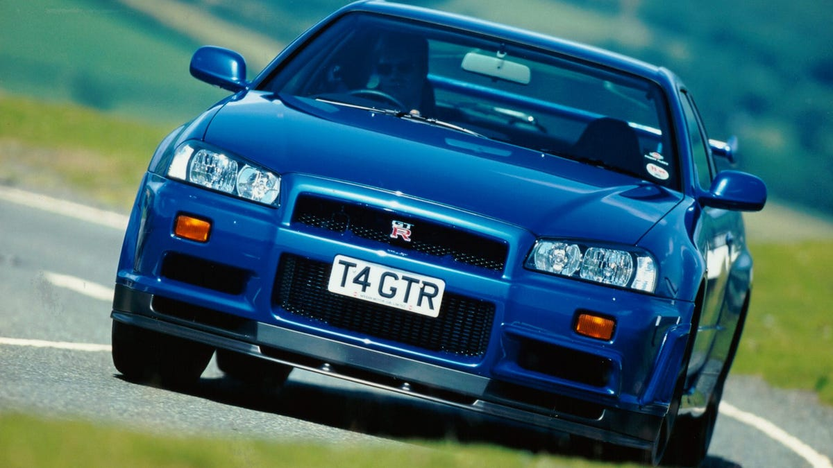 The R34 GT-R's Multifunction Display Was Secretly Its Coolest Feature