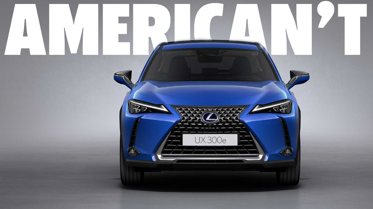 Lexus' First Electric Car Is Not For America Because Somehow Toyota Still Believes In Hydrogen Over Here