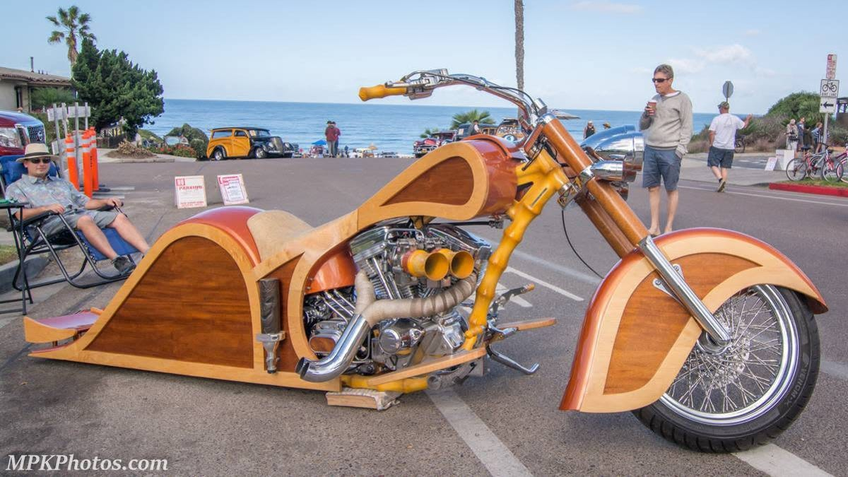 At $15,000, Would You Pine For This Custom Harley-Davidson 'Woody'?