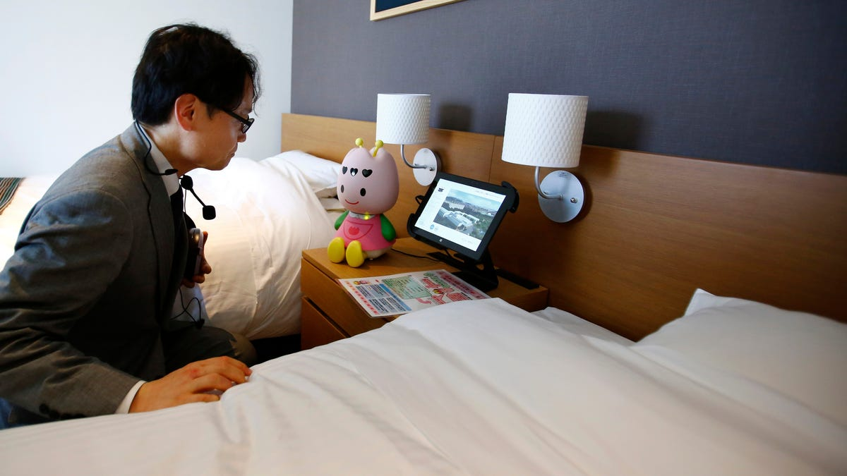 How to (Ethically) Hack the Hotel Bedside Robots