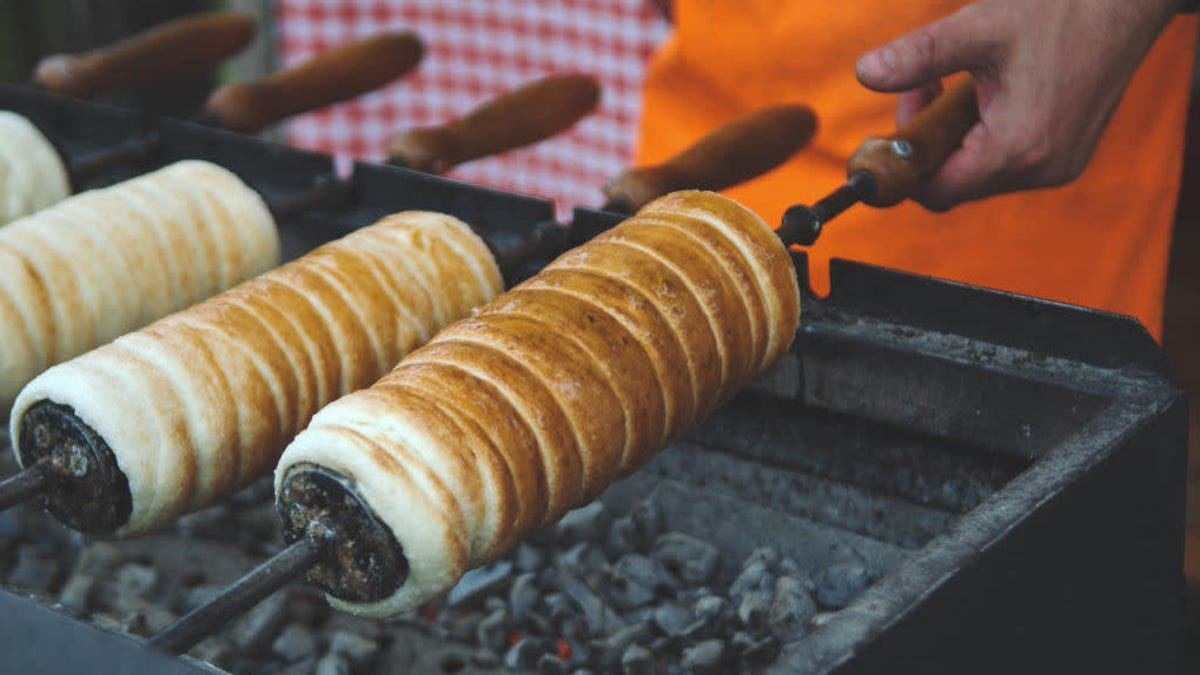 Chimney cakes are the best Hungarian export since paprika