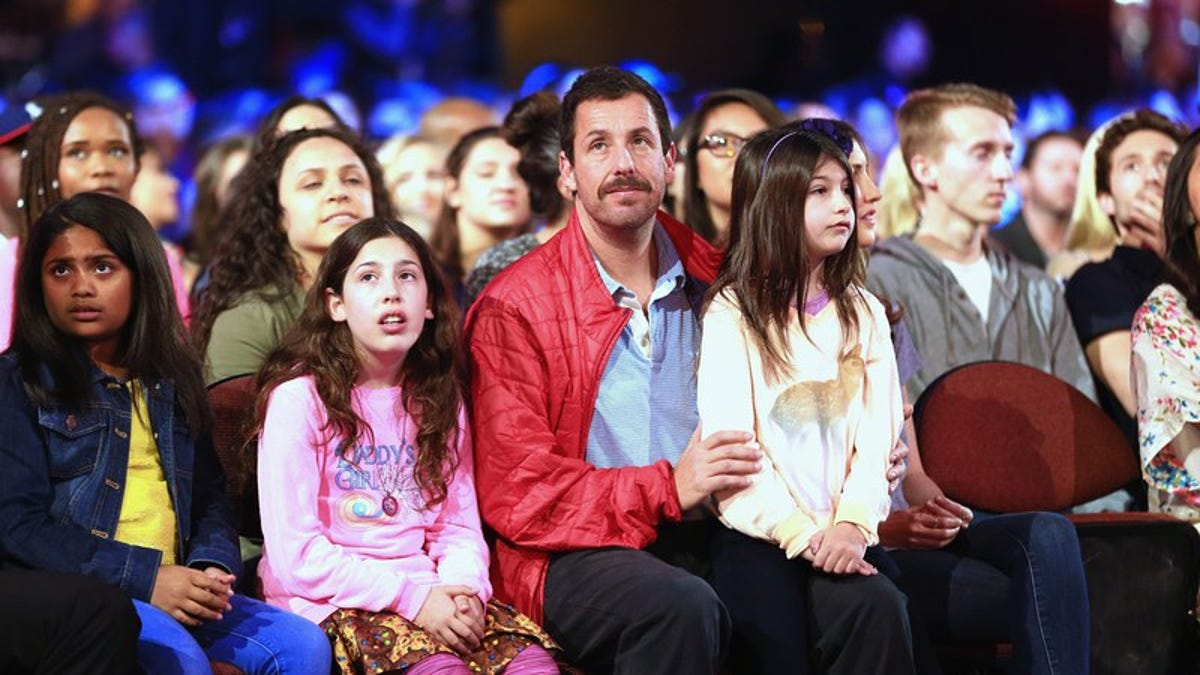 Like the rest of us, Adam Sandler's kids can't get through ...