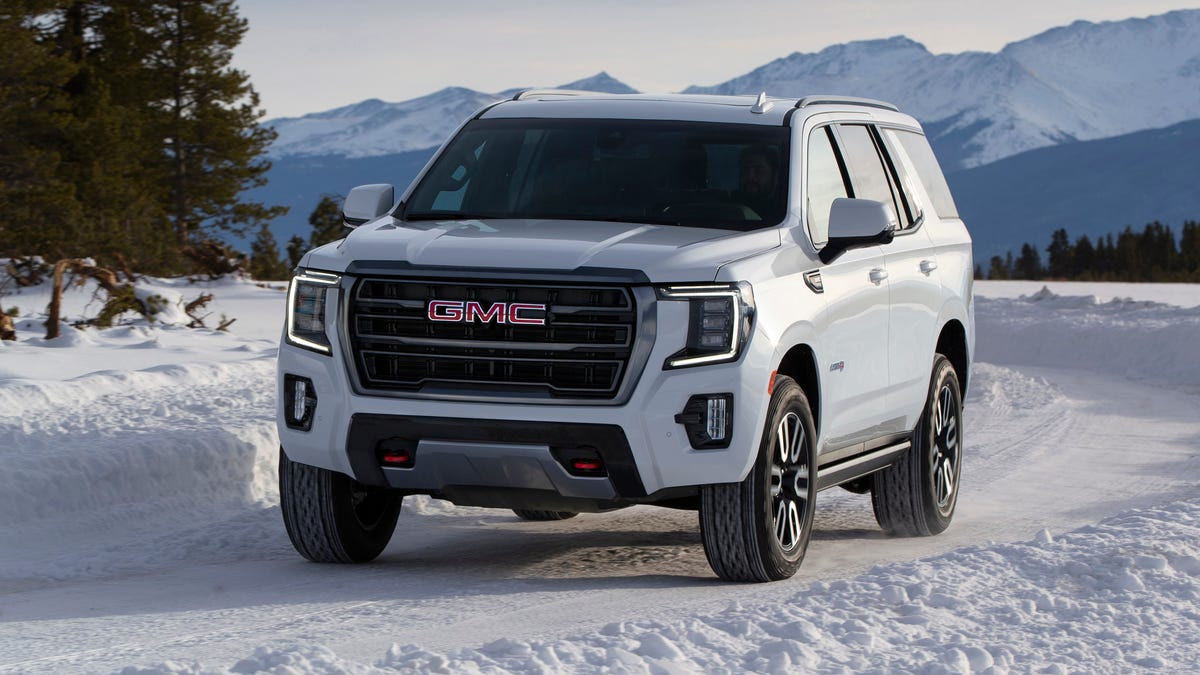 The 2021 GMC Yukon Is A Choose-Your-Own-Adventure SUV