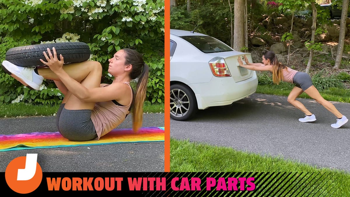 How To Get Super Jacked... Using Your Jack And Other Car Parts