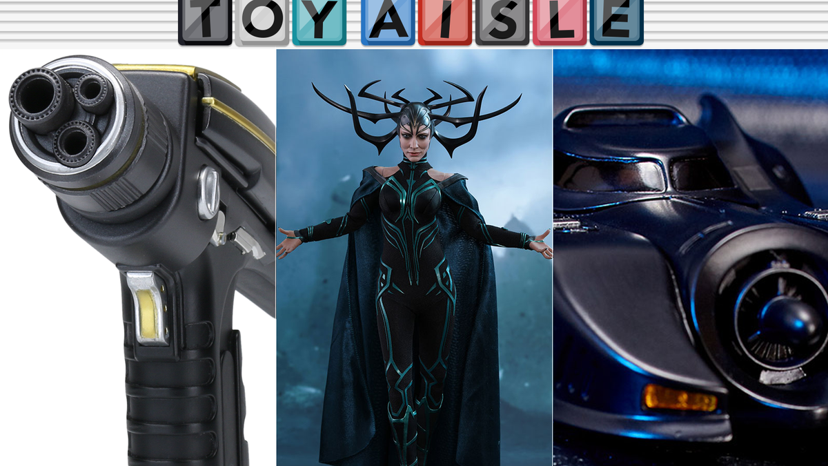 A Hela Figure to Rule Your Desk, and More of the Best Toys of the Week