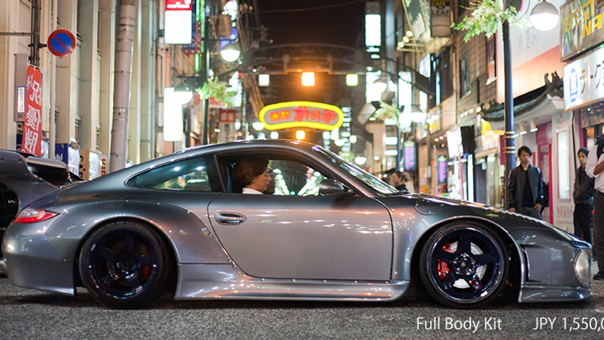 Rays Auto Sales >> Bizarre Japanese Slant-Nose Porsche 997 Possibly Redeems ...
