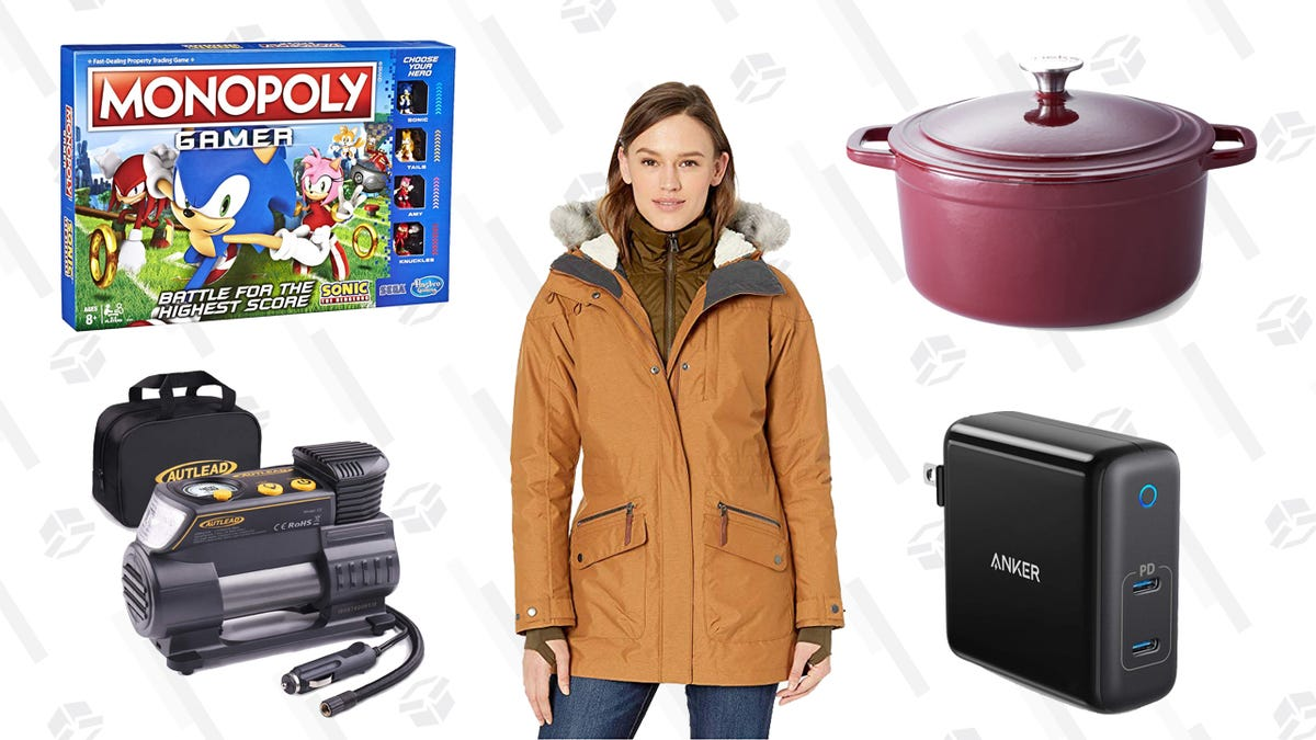 Monday's Best Deals: Presidents Day Sales, Cooks Signature Dutch Oven, Sonic the Hedgehog Monopoly, and More