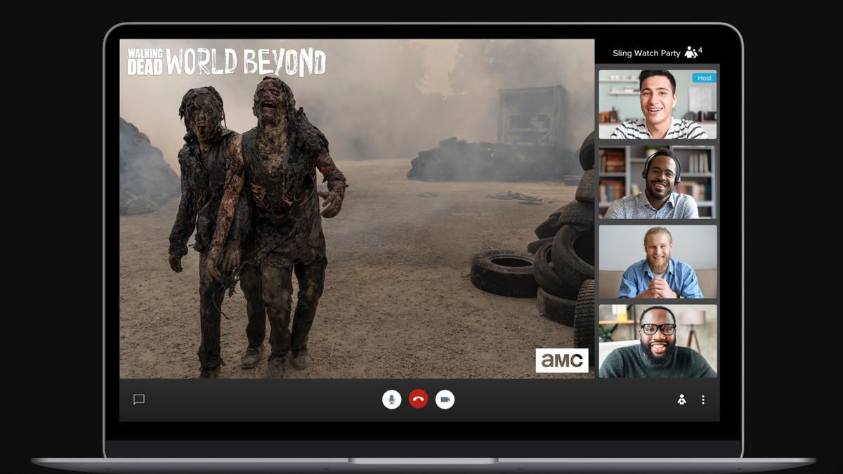 Sling TV Is Rolling Out Its Very Own Watch Party Feature