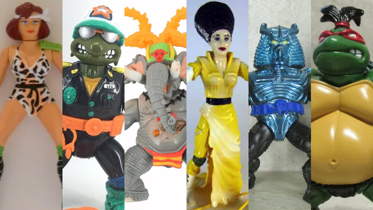 21 Ridiculous (and Seriously Problematic) Teenage Mutant Ninja Turtles Figures of the '90s