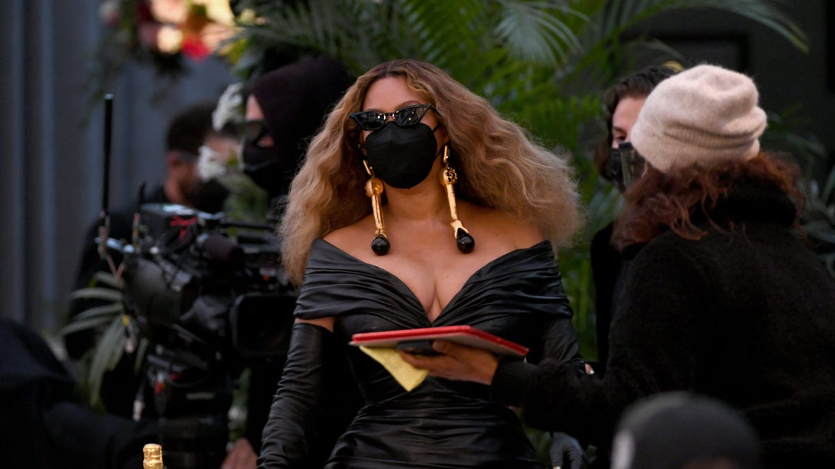 True to Form, Beyoncé Surprised Everyone by Showing Up to the Grammys and Making History