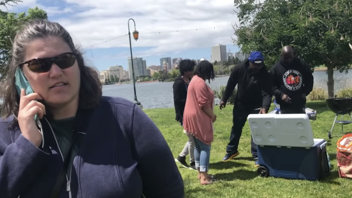 #CookingOutWhileBlack: White Woman Calls Cops on Black People Cooking Out in Oakland, Calif., Park