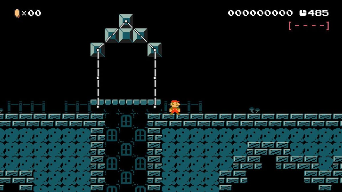 A Mario Maker Remake Perfectly Captures The Moodiness Of Hollow Knight