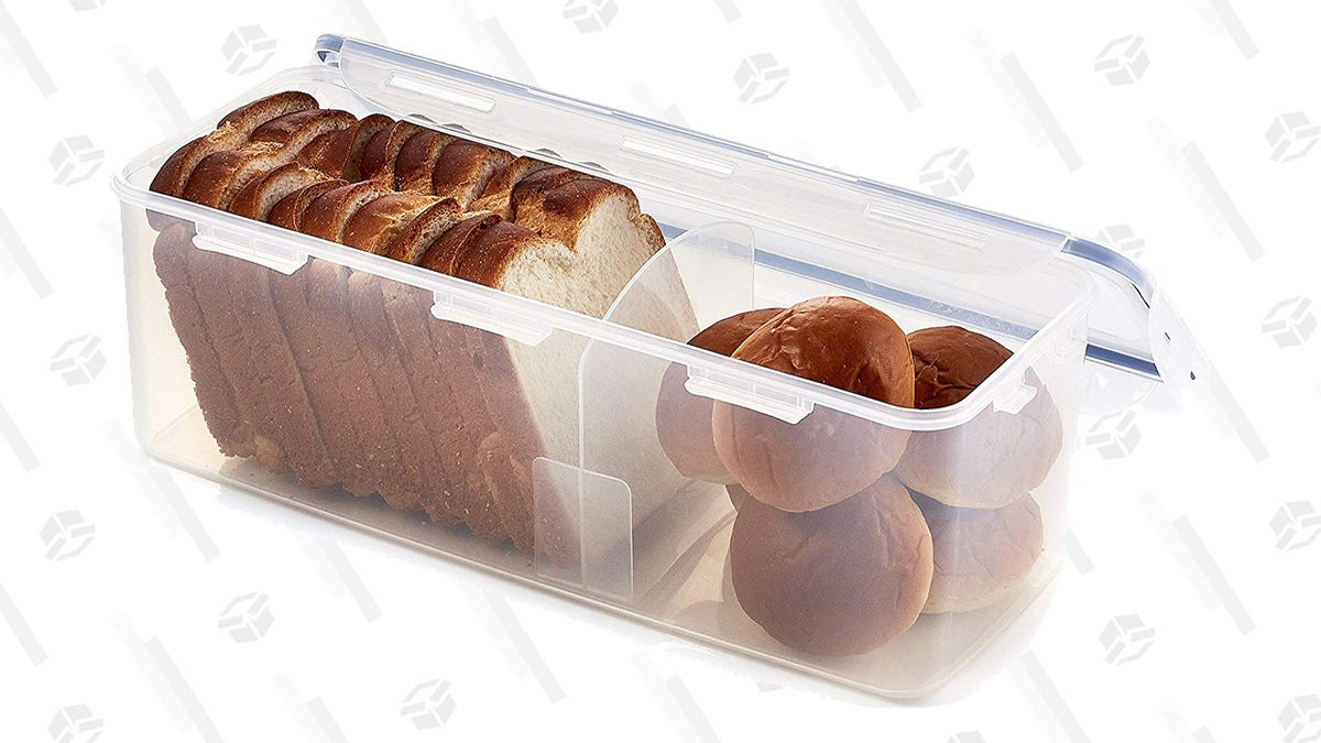 Keep Your Favorite Carb Fresh For Longer With This Discounted Bread Box