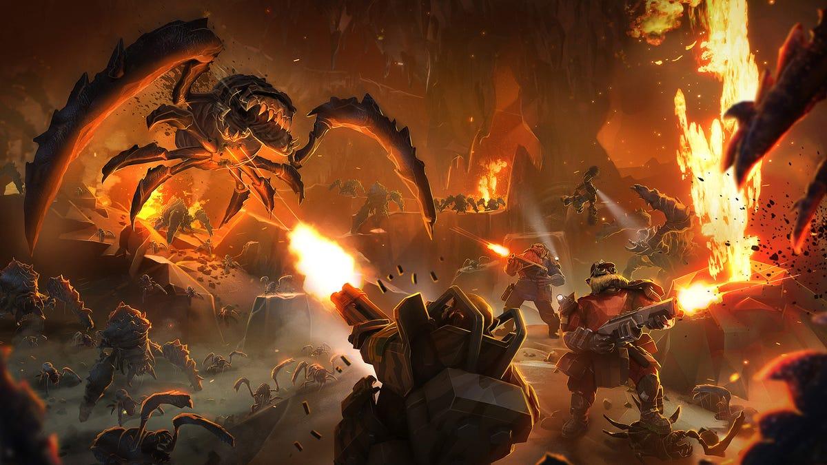 Deep Rock Galactic is one of 2020's best co-op gaming experiences