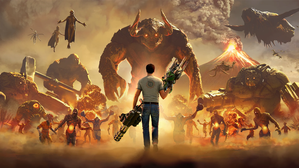 Stadia Exclusivity Will Keep Serious Sam 4 Off PS4 And Xbox Until 2021