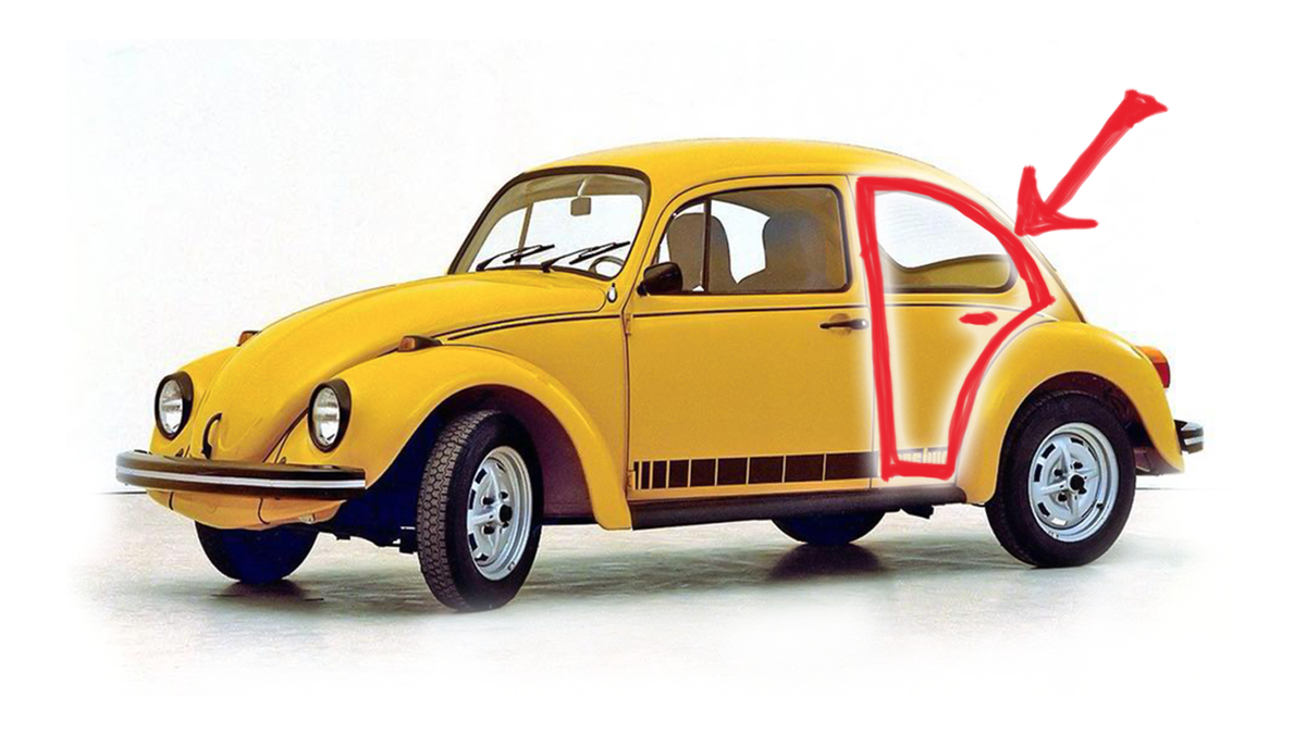 A Brief But Vitally Important History Of Four Door Volkswagen Beetles