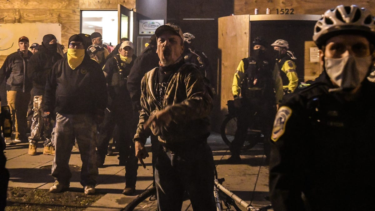 Police Protected Proud Boys at D.C. Protests, Local Black Lives Matter Organizers Say