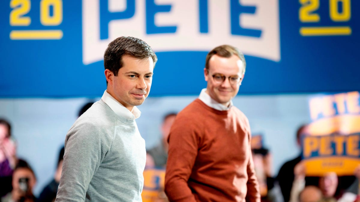 Don't Worry Straight People, Chasten Buttigieg Wouldn't Dare Be Photographed Near a Dancer Pole