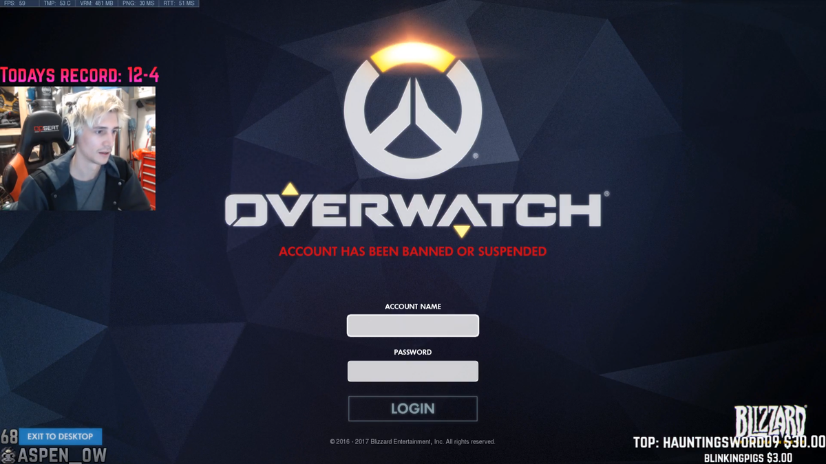 Overwatch Pro's Mid-Match Suspension Raises Questions About Blizzard's Reporting System