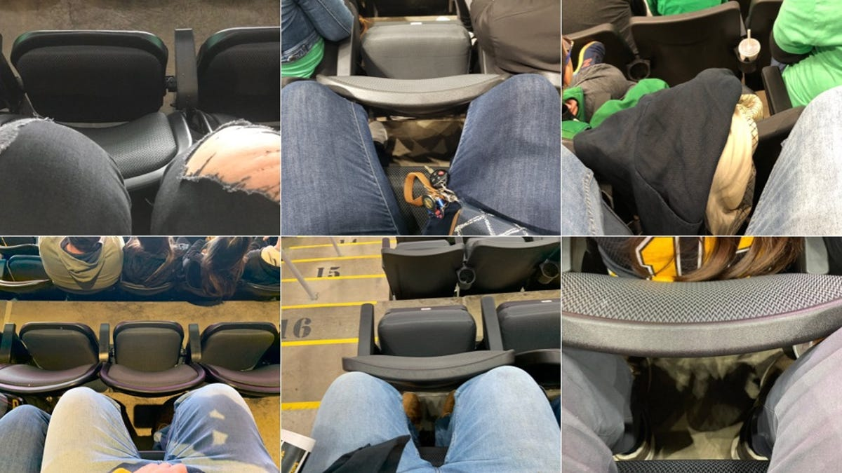 """Arena """"Upgrade"""" Means Pathetic Legroom For Boston Fans"""
