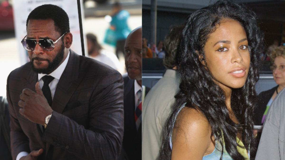 R. Kelly Charged With Taking Bribes For a Fake ID to Marry Aaliyah When She Was 15
