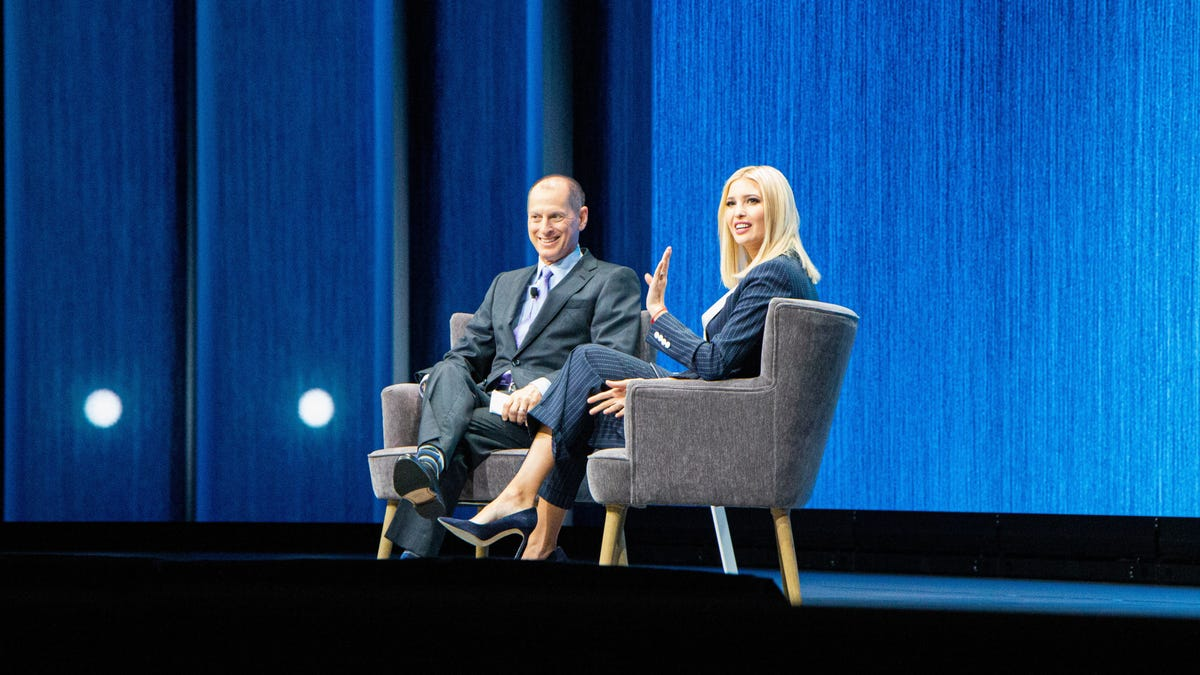 Ivanka to CES: College Is Overrated