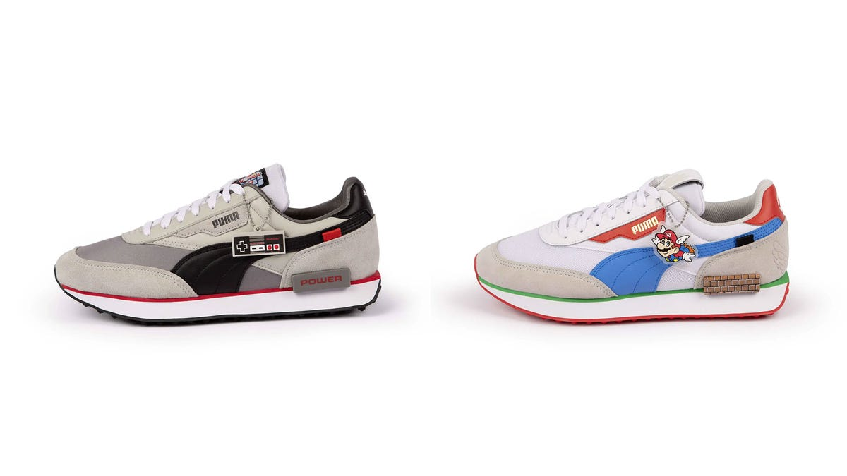 Huh, Puma Has Some New Nintendo Sneakers, And They're Alright
