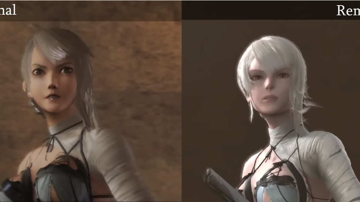 Let's See The Nier Replicant Remaster Compared To The Original