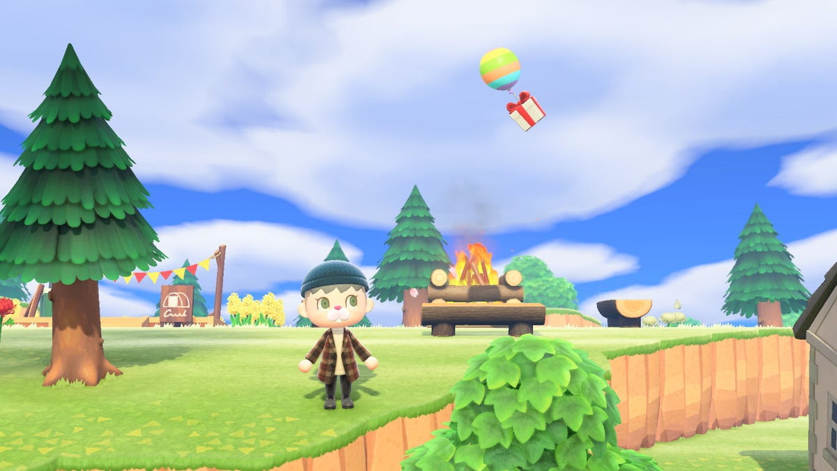 Animal Crossing: New Horizons Patch Fixes Missing Balloons Bug