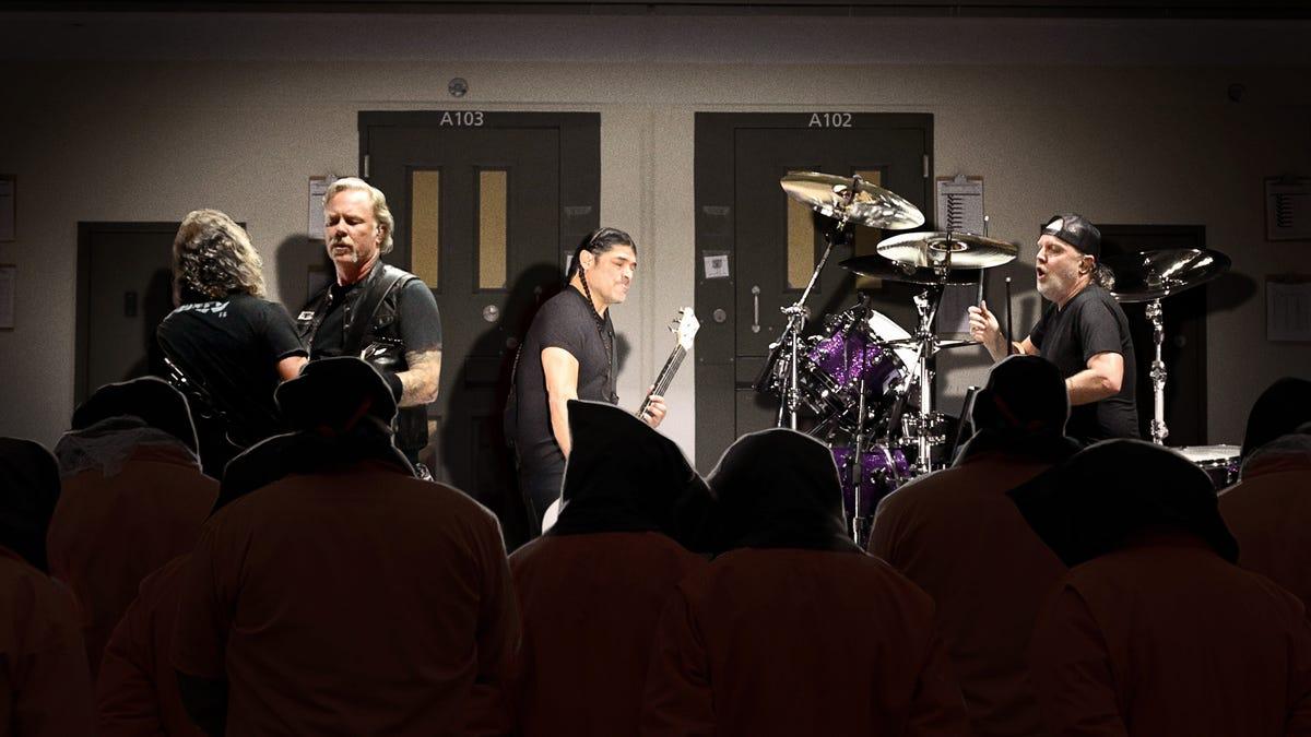 Neue CIA-Folter-Programm Konzert-Serie Bringt Metallica In Schwarz-Websites Zu Spielen 72-Stunden-Sets
