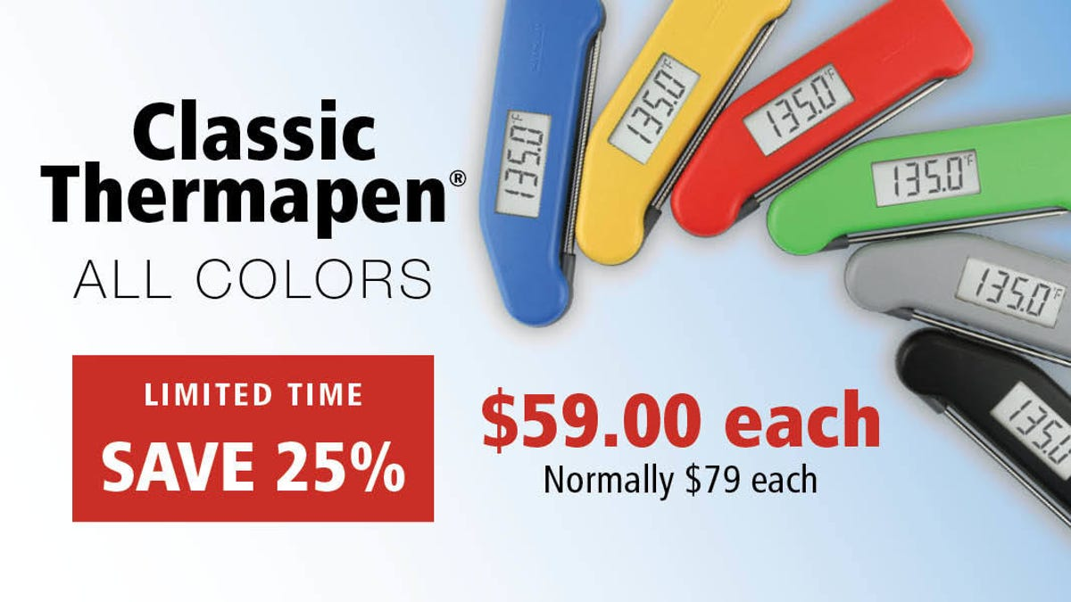 The Iconic Thermapen Classic Is Back Down to Its Lowest Price Ever
