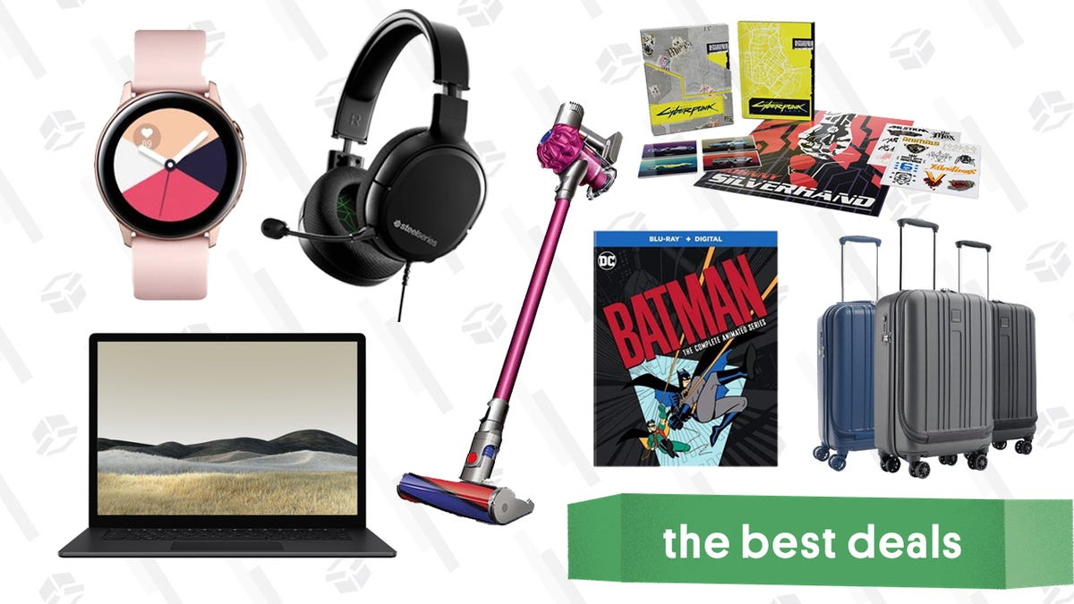Tuesday's Best Deals: Best Buy Back-to-School Sale on Intel Laptops, Samsung Galaxy Active Smartwatches, SteelSeries Arctis 1 Headset, Dyson V6 Absolute Vacuum, and More