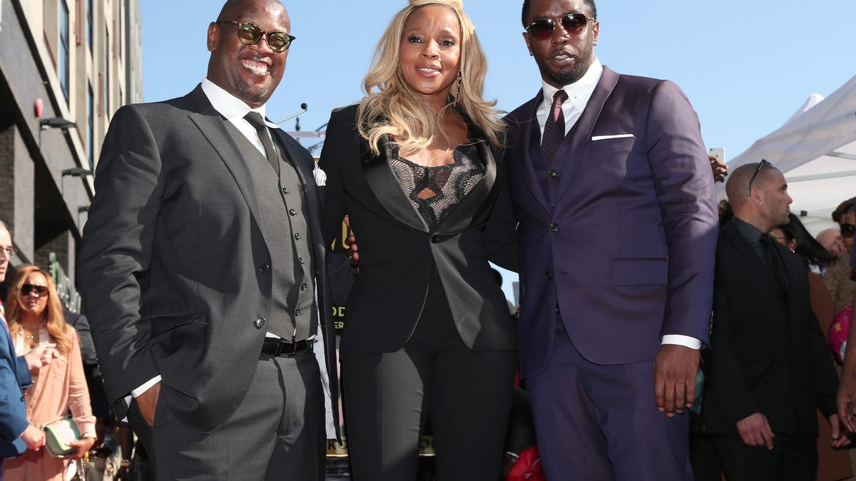 Diddy and Mary J. Blige Commemorate Andre Harrell in Instagram Tributes